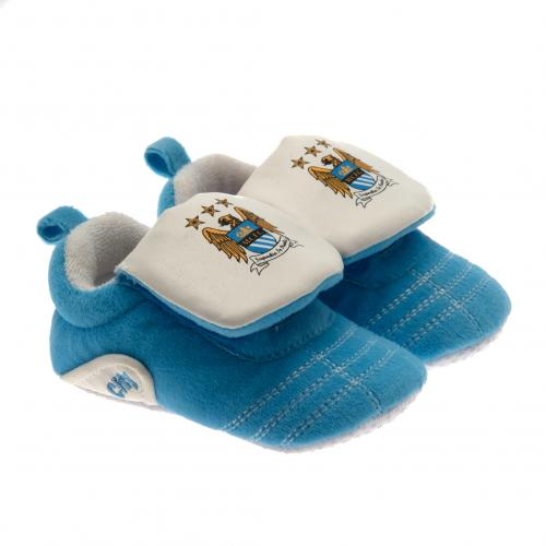 Manchester City F.C. Velcro Boot Crib