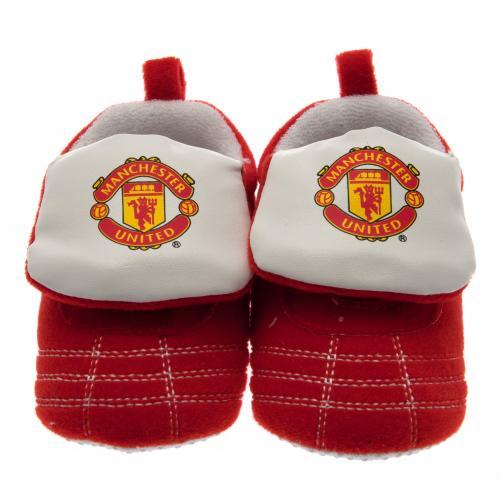 Manchester United F.C. Velcro Boot Crib