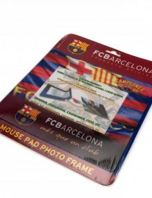 F.C. Barcelona Photo Frame Mouse Mat