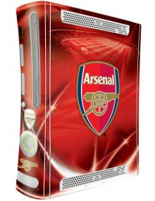 Arsenal F.C. Xbox 360 Skin
