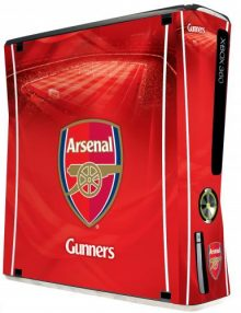 Arsenal F.C. Xbox 360 Skin (Slim)
