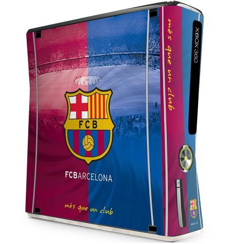 F.C. Barcelona Xbox 360 Skin (Slim)