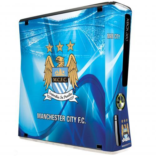 Manchester City F.C. Xbox 360 Skin (Slim)