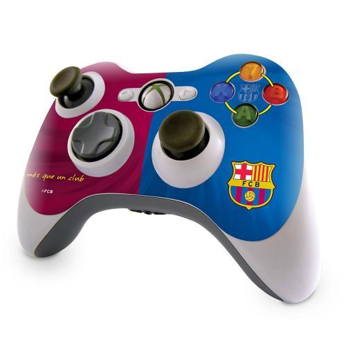 F.C. Barcelona Xbox 360 Controller Skin