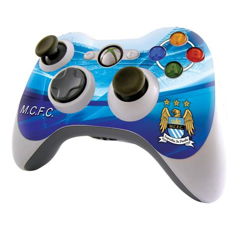 Manchester City F.C. Xbox 360 Controller Skin