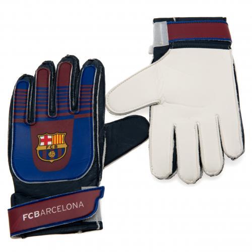 F.C. Barcelona Goalkeeper Gloves Yths