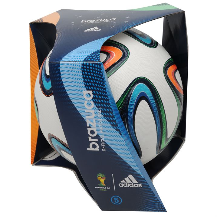 Adidas Brazuca 2014 FIFA World Cup Offical Match Ball
