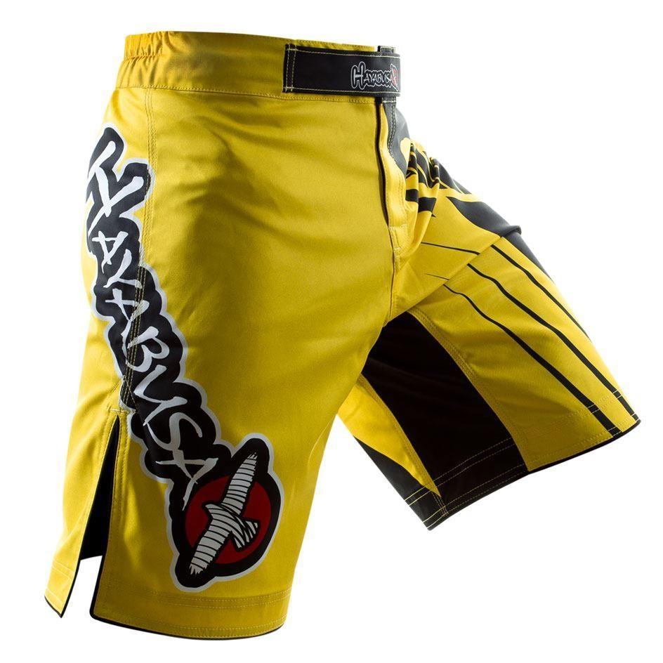 Hayabusa Chikara Recast Performance Fight Shorts - Yellow