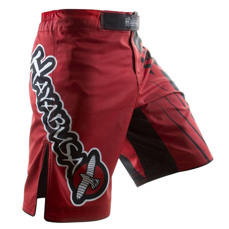 Hayabusa Chikara Recast Performance Fight Shorts - Red