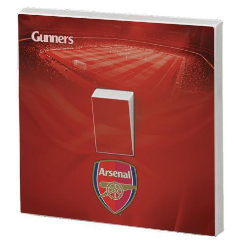 Arsenal F.C. Light Switch Skin
