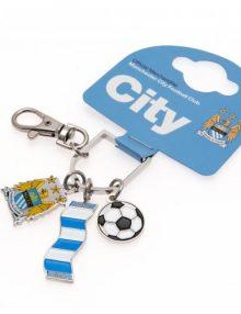 Manchester City F.C Bag Charm BS