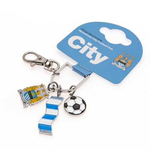 Manchester City F.C Bag Charm BS