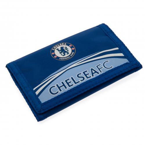 Chelsea F. C. Nylon Wallet - Blue
