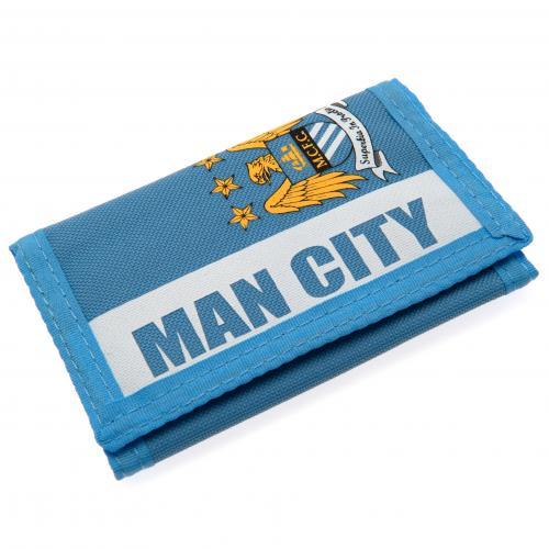 Manchester City F.C. Nylon Wallet