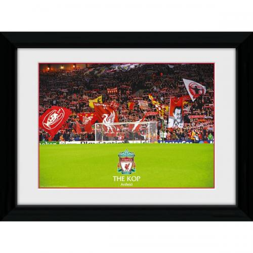 Liverpool F.C. The Kop Framed Picture