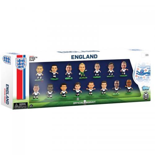 England SoccerStarz 15 Player Team Pack