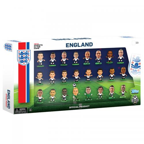 England SoccerStarz 24 Player Team Pack