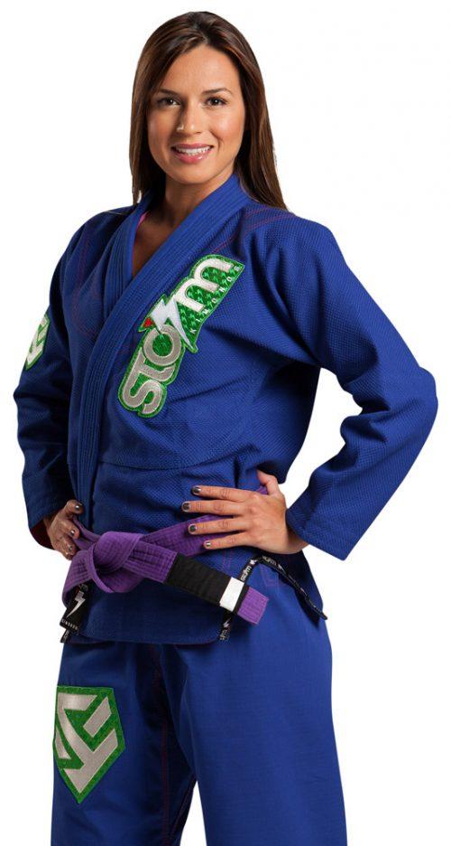 Storm Kimonos Commander Jiu Jitsu Gi - Blue