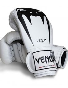 "Venum ""Giant"" Boxing Gloves  - White"