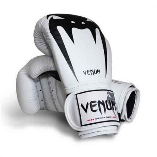 "Venum ""Giant"" Boxing Gloves  - White"