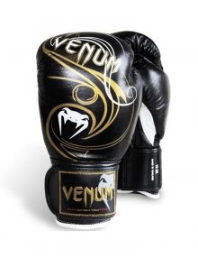 "Venum ""Wave"" Boxing Gloves  - Black"