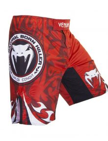 Venum Carlos Condit Fight Shorts - Red
