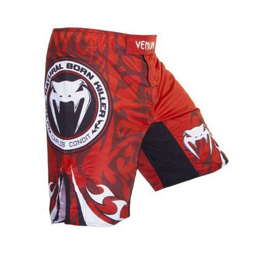 Venum Carlos Condit Fight Shorts - Red