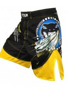 Venum Lyoto Dragon FX Shorts Brazil Edition - Black & Yellow