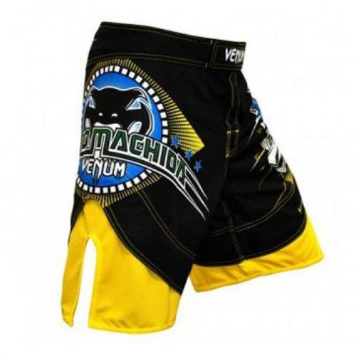 Venum Lyoto Dragon FX Shorts Brazil Edition - Black & Yellow