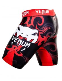 Venum Wand Fight Tem Inferno Fight Shorts - Black