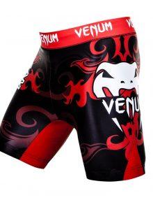 Venum Wand Fight Tem Inferno Fight Shorts - Black