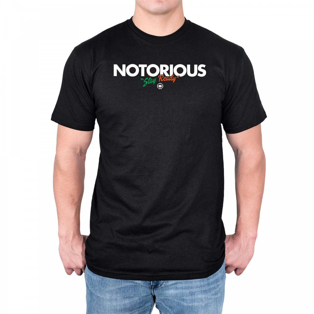 Dethrone Conor McGregor Notorious - Black