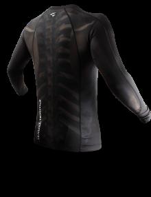 Punchtown Fracture Rash Guard Long Sleeve - Black