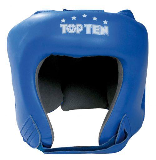 TOP TEN AIBA Boxing Head Guard - Blue