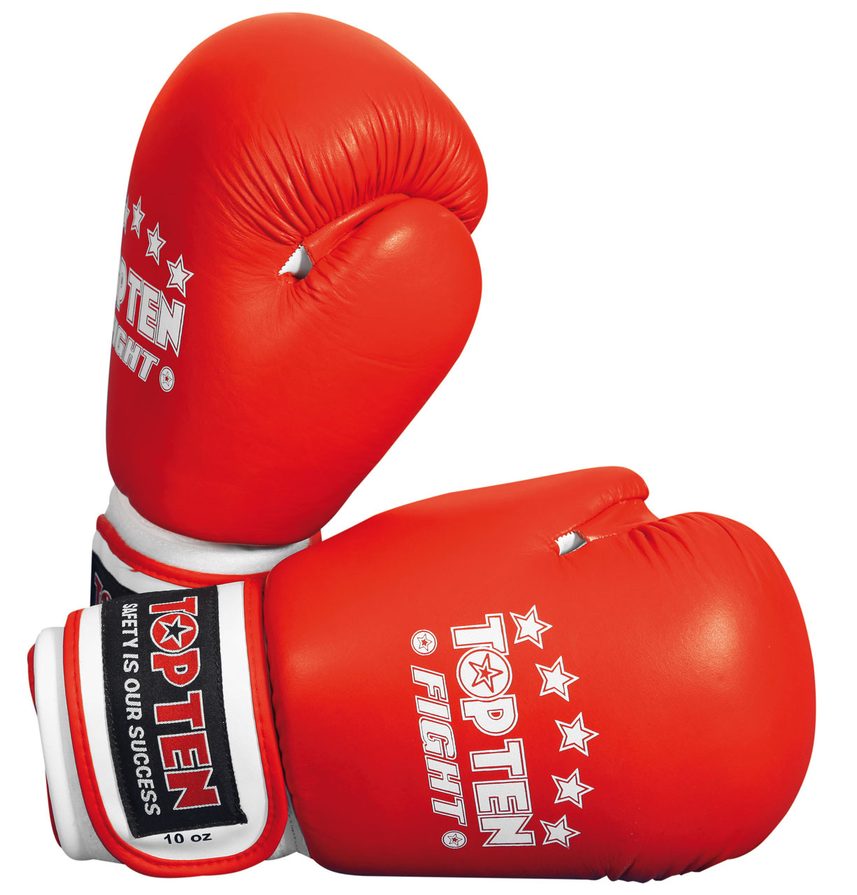 TOP TEN FIGHT Boxing Gloves - Red