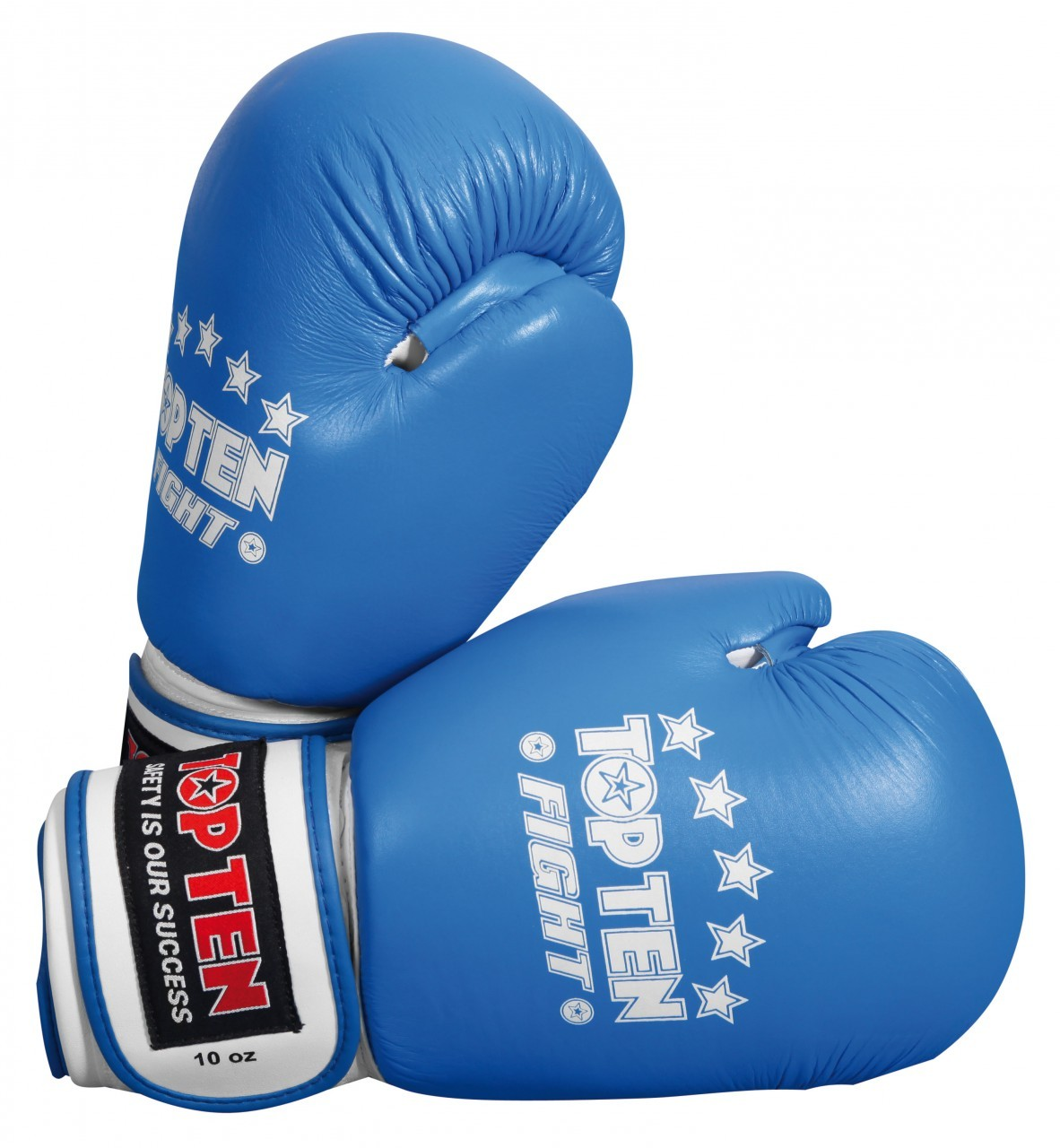 TOP TEN FIGHT Boxing Gloves - Blue