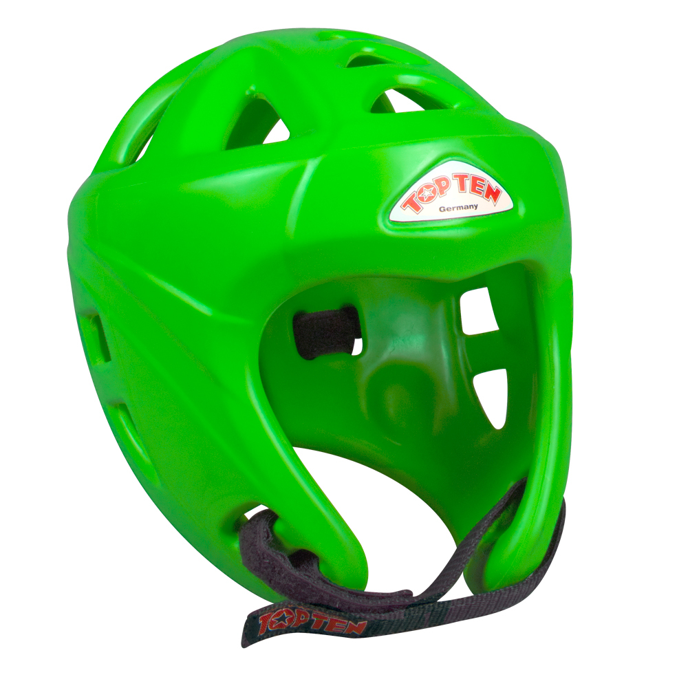TOP TEN Avantgarde Head Guard - Neon Green