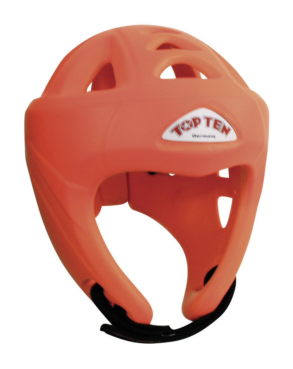 TOP TEN Avantgarde Head Guard - Neon Orange