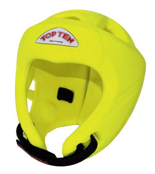TOP TEN Avantgarde Head Guard - Neon Yellow