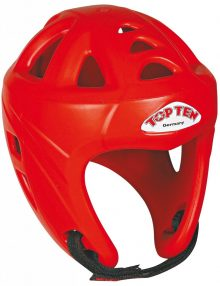 TOP TEN Avantgarde Head Guard - Red