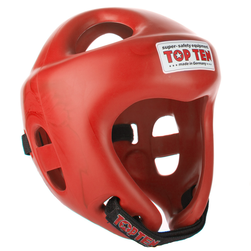 Competition Fight Head Guard - Red