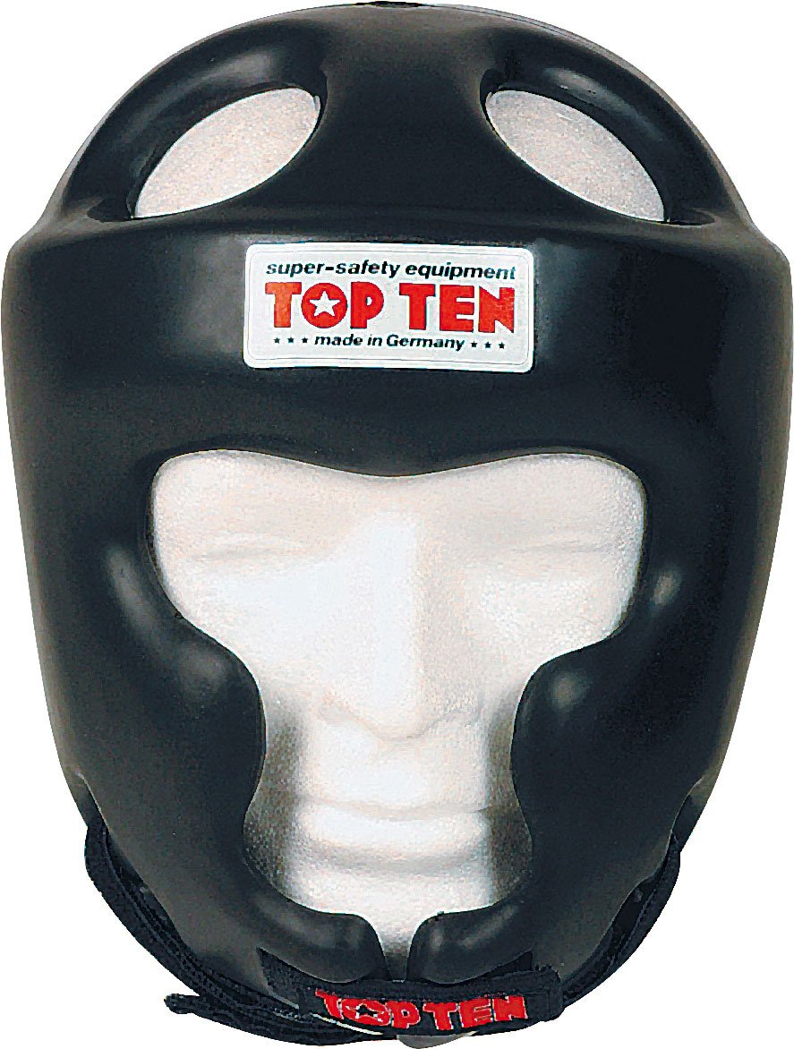 Headguard Full Protection - Black