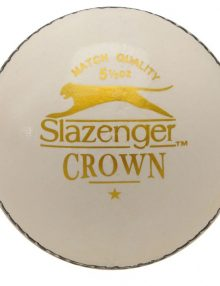 Slazenger Crown Cricket Ball - White