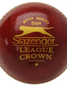 Slazenger League Crown Cricket Ball - Red