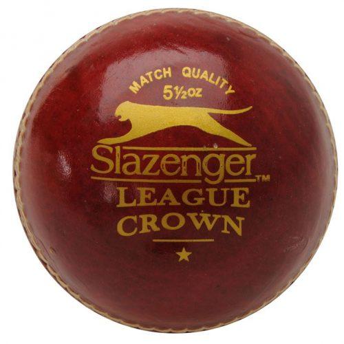 Slazenger League Crown Cricket Ball - Red
