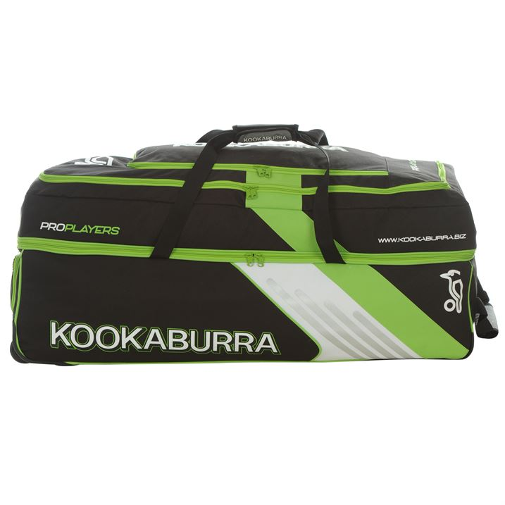 Kookaburra Pro Players Wheelie Cricket Bag