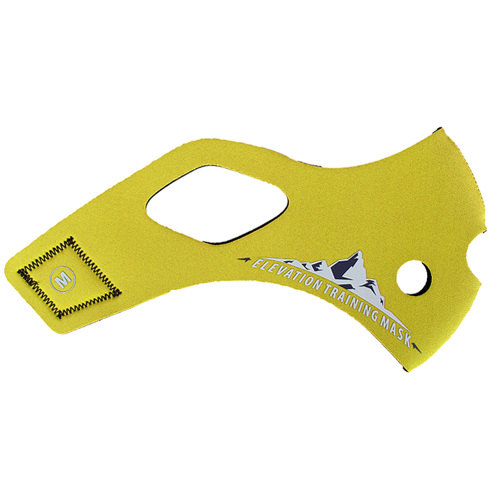 Elevation Training Mask 2.0 Solid Yellow Sleeve