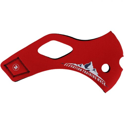 Elevation Training Mask 2.0 Solid Red Sleeve