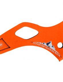 Elevation Training Mask 2.0 Solid Orange Sleeve