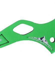 Elevation Training Mask 2.0 Solid Green Sleeve